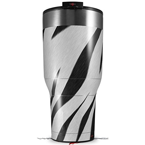 Skin Wrap Decal for New 2017 RTIC Tumblers 40oz Zebra Skin (TUMBLER NOT - Skin Zebra New