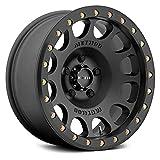 "Method Race Wheels 105 Beadlock Matte Black 17x9 8x6.5, 38mm Offset 3.5"" Backspace, MR10579080538B"