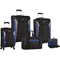 Image of the product Nautica 5 Piece Luggage that is listed on the catalogue brand of Nautica.