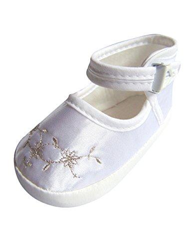 Chaussures de fête pour le baptême ou de mariage - chaussures de baptême pour les filles, bébés TP25 tailles 16-19