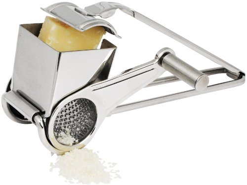 Winco Rotary Cheese Grater with Fine Grating Drum by Winco
