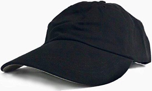 Anvil Blank Dad Hats - 100% Cotton Plain Adjustable Baseball (Anvil Cotton Hat)