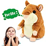 Tuko Talking Hamster Repeats What You Say, Electronic Pet Talking Plush Toy