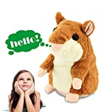 : Tuko Talking Hamster Repeats What You Say, Electronic Pet Talking Plush Toy