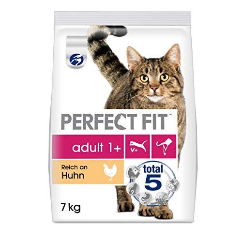 Perfect Fit – Trockenfutter für erwachsene Katzen – Unterstützt die Vitalität, verschiedene Sorten, 7 KG
