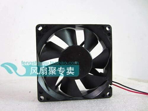 24 pu 8 cm 8025 24 v 0.11 A 80 80 25 mm double ball bearing cooling fan 2 line Original Nidec D08A