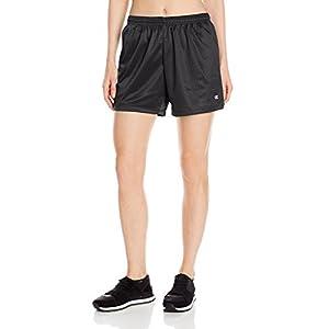 Champion Women's Mesh Short, Black, Large