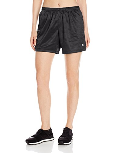 Champion Women's Mesh Short, Black, X-Large