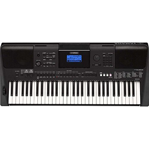 [해외]Yamaha PSR-E453 61 키 터치 반응 휴대용 키보드 Yamaha Survival Kit & amp; /Yamaha PSR-E453 61-Key Touch Response Portable Keyboar