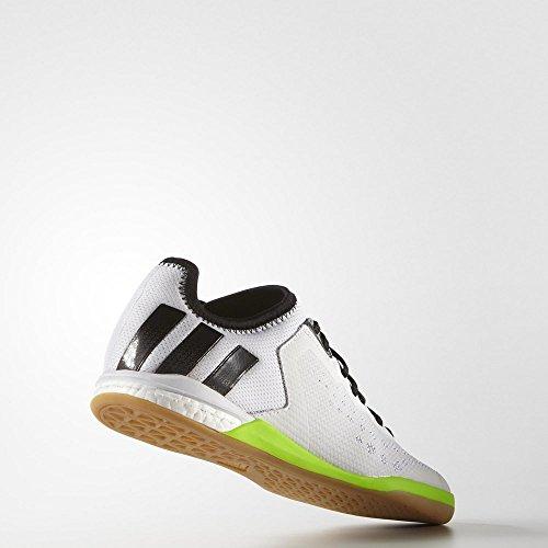 adidas Ace 16.1 Court, Zapatillas de Running para Hombre Blanco / Negro (Ftwbla / Nocmét / Negbas)