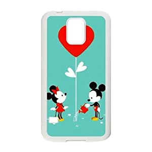Samsung Galaxy S5 I9600 Phone Case Disney cartoon Mickey Mouse Minnie Mouse Protective Cell Phone Cases Cover DFK070448