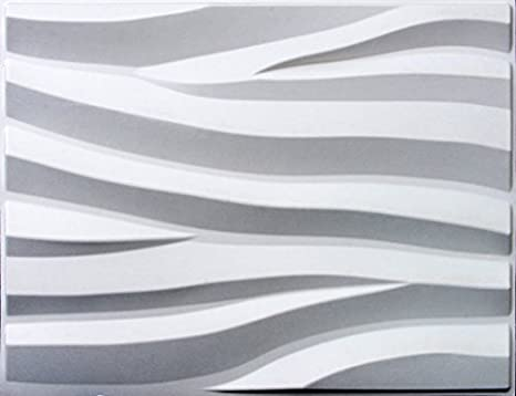 3d Wall Panels Glue Up Bamboo Pulp Box Of 6 White Panels Or 32 Sq Ft