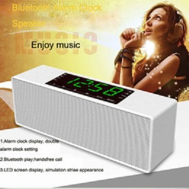 Bluetooth wireless Speaker PTH-302 with LED Screen, clock...