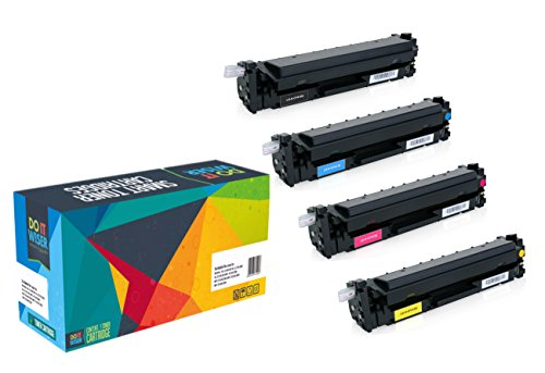 Do It Wiser Compatible High Yield Toner Cartridge for HP 410X Color Laserjet M452NW M452DW M452DN MFP M477FDN M477FDW M477FNW M377 4-Pack