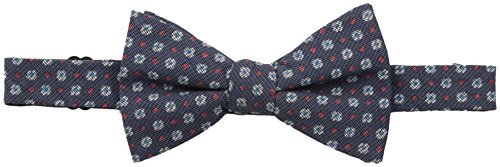 Ben Sherman Men's Croydon Medallion Pre-Tied Bow Tie, Navy/Red, One Size