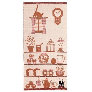 kiki's delivery service Bath towel 60×120cm Shelf (Import from Japan) by Studio Ghibli