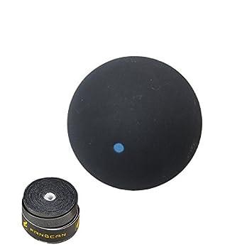 Solo FANGCAN punto azul formación pelota de Squash raqueta con ...