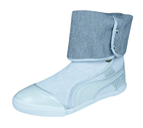 PUMA Sugie Suede Womens Boots - Shoes -Silver-8.5