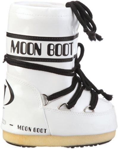 Tecnica Moon Boot Vinil - Botas de nieve, unisex Blanco (Weiss/Bianco/Nero)