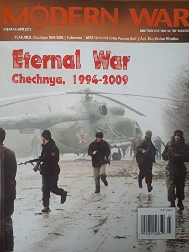 DG: Modern War Magazine #40, with Chechen War, 1994-96, Boardgame (Dien Bien Phu Board Game)