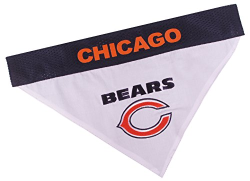 NFL Dog Bandana - Chicago Bears Reversible