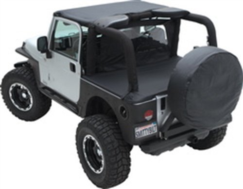 - Smittybilt 773215 Spare Tire Cover for All Jeep Wranglers, Denim Black, Large 30