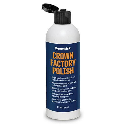 Brunswick Crown Factory Polish 6oz Crown Factory Polish 6 oz