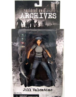 NECA Resident Evil Archives Jill Valentine (blue)