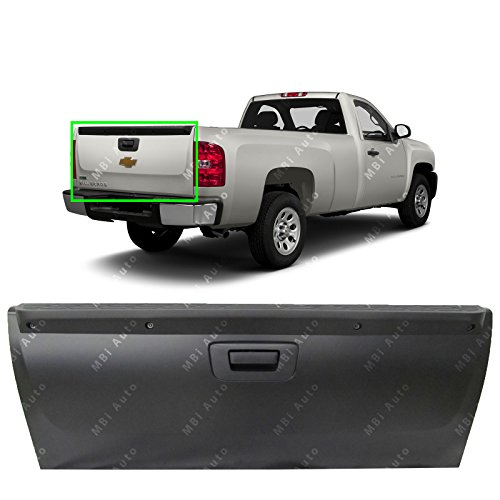- MBI AUTO - Primered Steel, Tailgate Complete Assembly for 2007-2013 Chevy Silverado & GMC Sierra 1500 Pickup, GM1901104
