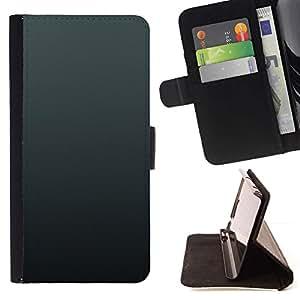 For Sony Xperia M5 E5603 E5606 E5653 Case , Simple Gray 3- la tarjeta de Crédito Slots PU Funda de cuero Monedero caso cubierta de piel