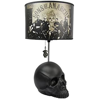 Sons of Anarchy Skull Table Lamp - - Amazon.com
