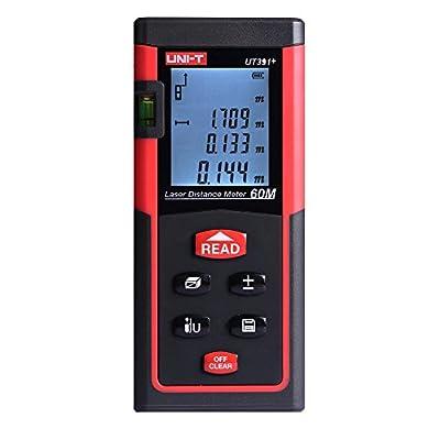 UNI-T Digital Distance Laser Meter Range Finder Measure Diastimeter Function of self calibration
