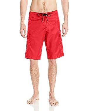 Men's Manic 22 in. Boardshorts and HDO Travel Sunscreen (15 SPF) Spray Bundle