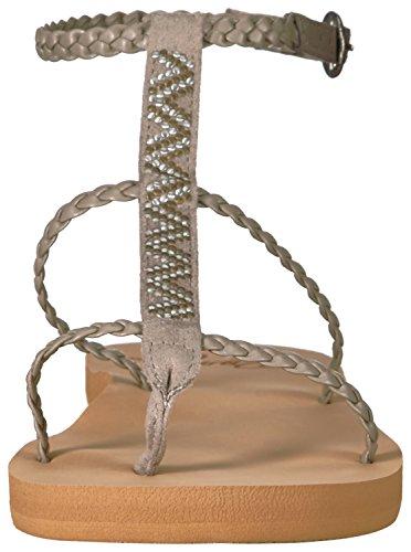 para mujer Sandal Gladiator Kahanu Taupe Roxy RxqY7vc