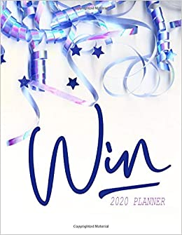 Win 2020 Planner: Weekly Competition Organizer For Sweepers