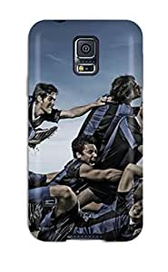 Unique Design Galaxy S5 Durable Tpu Case Cover Football Players