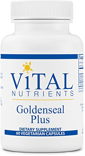 Vital Nutrients - Goldenseal Plus - Supports Healthy Immune Function - 60 Capsules