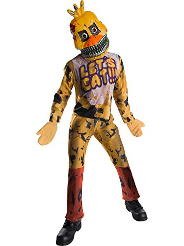 Rubie's Costume Boys Five Nights at Freddy's Nightmare Chica The Chicken Costume, Medium, Multicolor