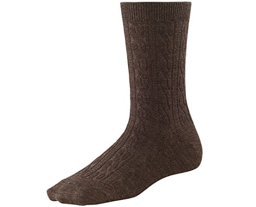 Smartwool Women's Cable II Socks,Chestnut,Medium B(M) US