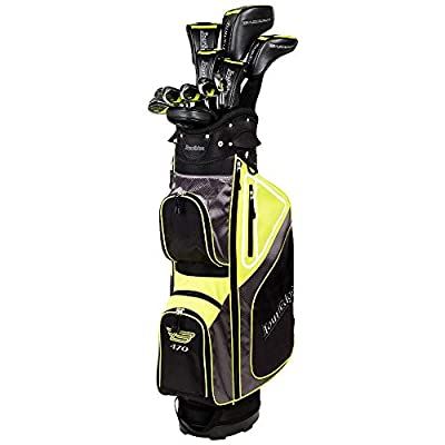 Tour Edge Bazooka 470 Black Complete Set (19pc Set, Graphite Uniflex)
