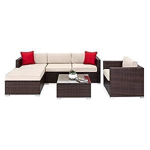 41jUKiNkLQL._SS300_ Wicker Patio Furniture Sets