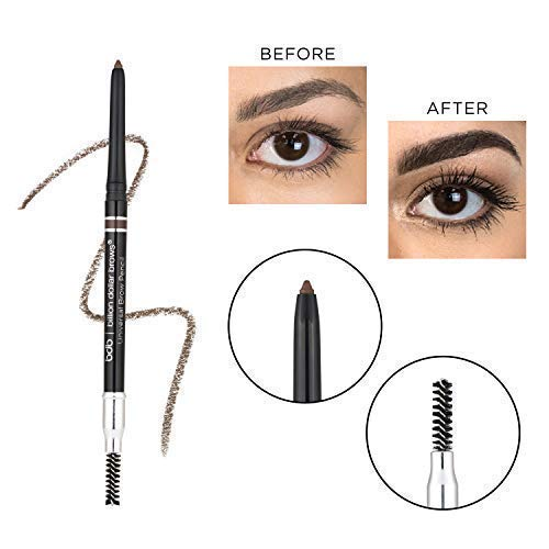 Billion Dollar Brows - Universal Eyebrow Pencil, Cruelty-Free, Formulated To Work With Most Skin Tones and Hair Colors ()