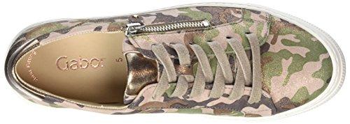 Multicolore Casual Femme Gabor Kombi Rosa Shoes Gabor Derbys HSXqqwBvx