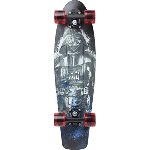 Penny Skateboards x Star Wars Limited Edition Skateboard Cruisers- 22inch & 27inch Boba Fette, Darth Vader, R2D2, and Storm Trooper Penny Boards (Darth Vader, 27inch)