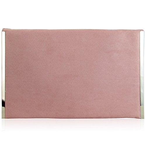 poudr Pochette rose femme London pour Xardi pfqFXC