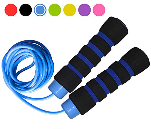 Limm Jump Rope Experience Levels, Cardio, Cross Fitness & More - Easily Adjustable - Best Exercise for Weight-Loss & Health - Start Enjoying The Comfort Today! (Mens Health Jump Rope)