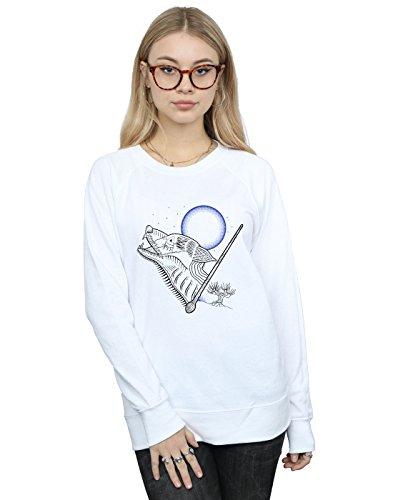 Camisa De Blanco Entrenamiento Mujer Line Art Werewolf Potter Harry AZSqXHa