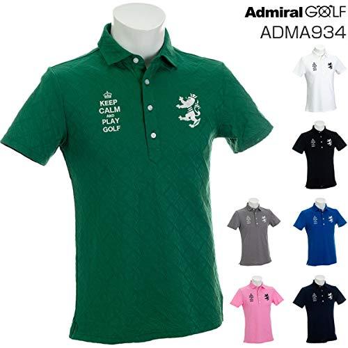 新着商品 [アドミラルゴルフ] UJ メンズ UJ リンクス M ボタンダウン 半袖ポロシャツ ADMA934 M GRN(60) リンクス B07PLBQSLW, 和田村:e1f82d99 --- arianechie.dominiotemporario.com