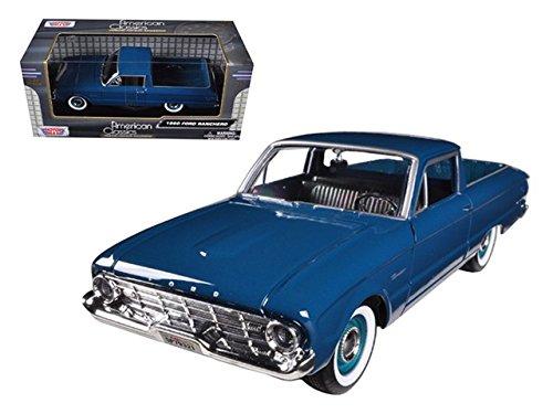 Motormax 79321 1960 Ford Falcon Ranchero Pickup 1/24 Diecast Model Car