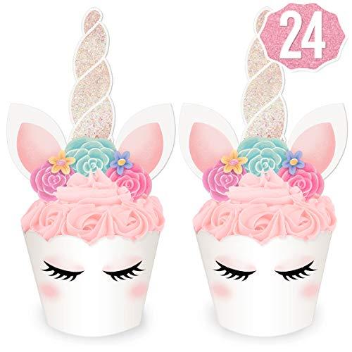 xo Fetti Unicorn Cupcake
